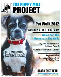 Miles For The Mothers In The Mills Pet Walk 2012