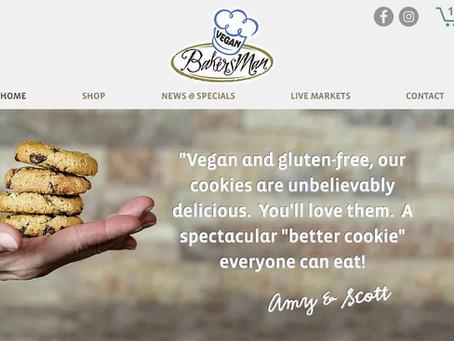 Vegan Bakersman online ordering is LIVE!
