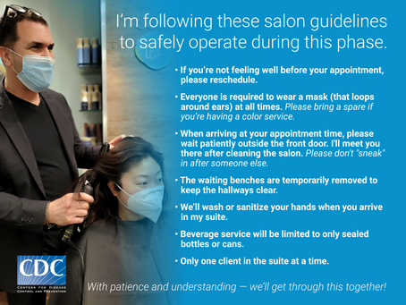Phenix Salon Suites Covid Safety Guidelines