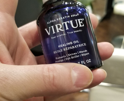 Virtue does it again!  Healing Oil... does JUST THAT!