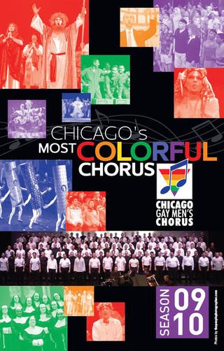 Chicago Gay Mens Chorus ~ Season Postcar