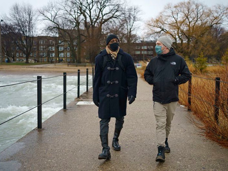Chicago Tribune: In a pandemic year, walk and talk therapy is helping some Chicago residents...
