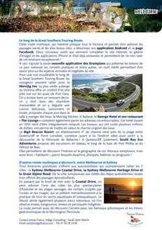 Relations Presse : Office de tourisme Melbourne & Victoria