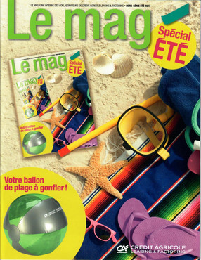 Presse d'entreprise : Le mag CAL&F