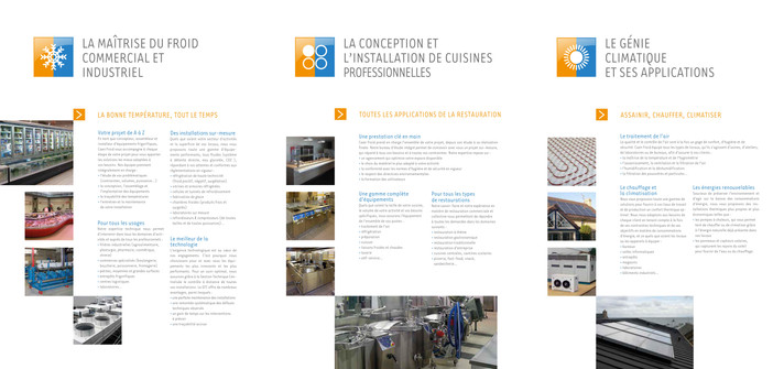 Communication institutionnelle : Caen Froid