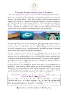 Relations Presse : Beach House Iruveli