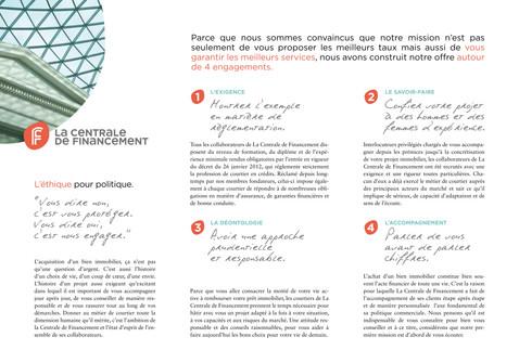 Communication institutionnelle : La Centrale de Financement