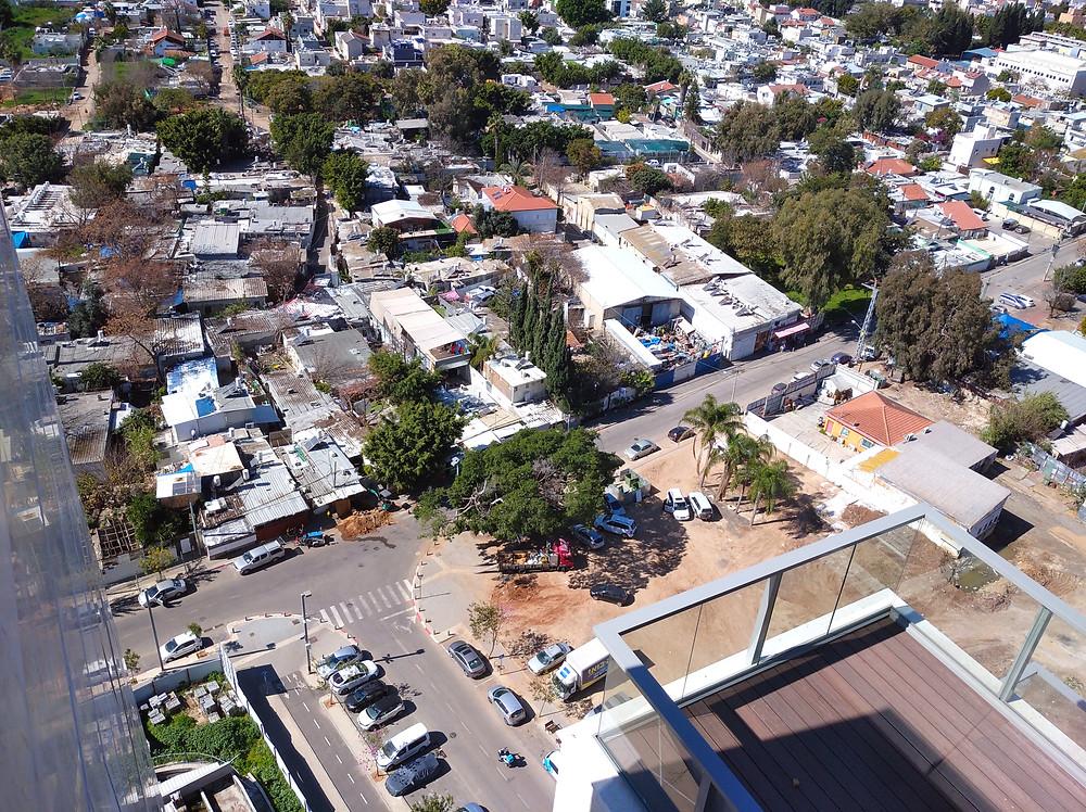שכונת הארגזים הותיקה, החלק הצפוני שצפוי להתחדש