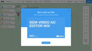 bem-vindo ao wix