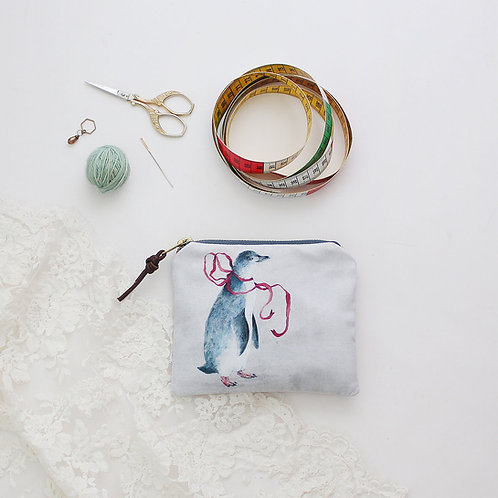 Zipper Tasche Pinguin Penny