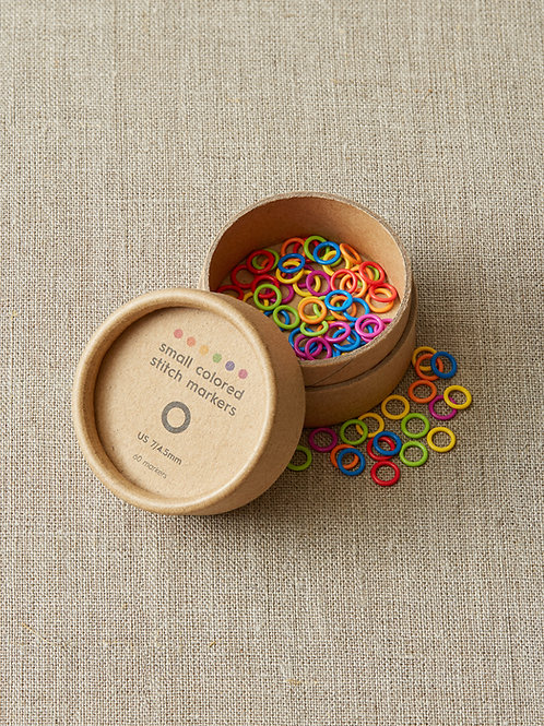 Colored Ring Stitch Marker from Cocoknits