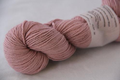 Rosy Green Wool Handdyed 931b