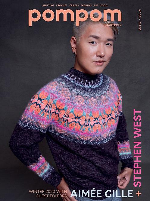 pompom Issue 35, Winter 2020