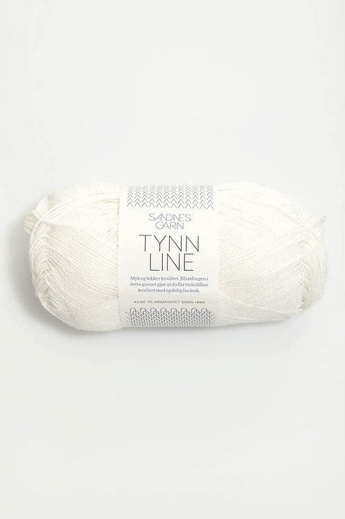 Tynn Line 1002 Hvit