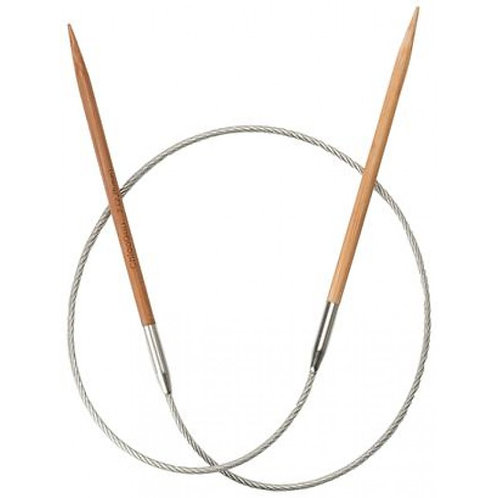 Rundstricknadeln Bamboo 40cm (kurze Spitzen)