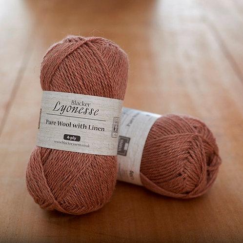 Lyonesse 4ply Tourmaline Peach Pink
