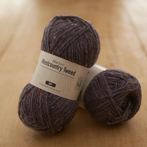 Westcountry Tweed Purple