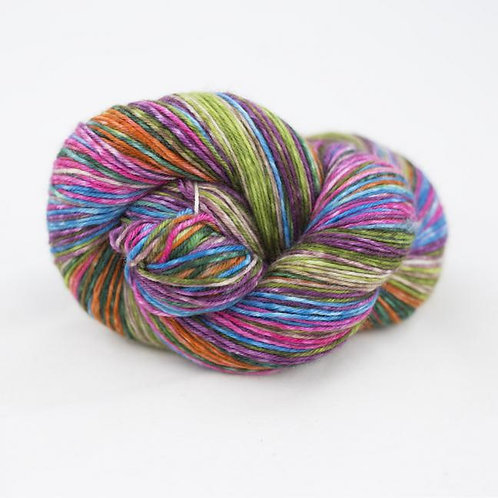 07 Lazy Lion Sock Yarn Flower-bed