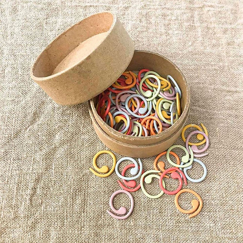 Colored Split Ring Marker from Cocoknits