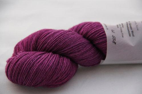 Rosy Green Wool Handdyed U558