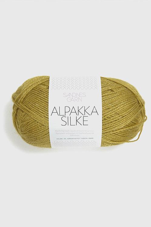 Alpakka Silke Gulgroon 2024