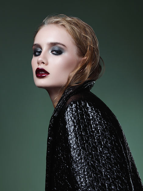 maquillaje gótico