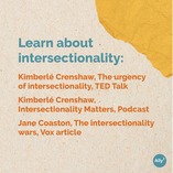 Learn about intersectionality