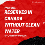Reserves in Canada Without Clean Water