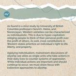 Individualistic vs. Collectivist Allyship Slide 2
