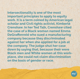 Learning 101: What is intersectionality? Slide 2