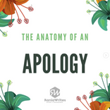 The Anatomy of an Apology