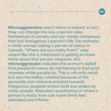 What are microaggressions? Slide 3