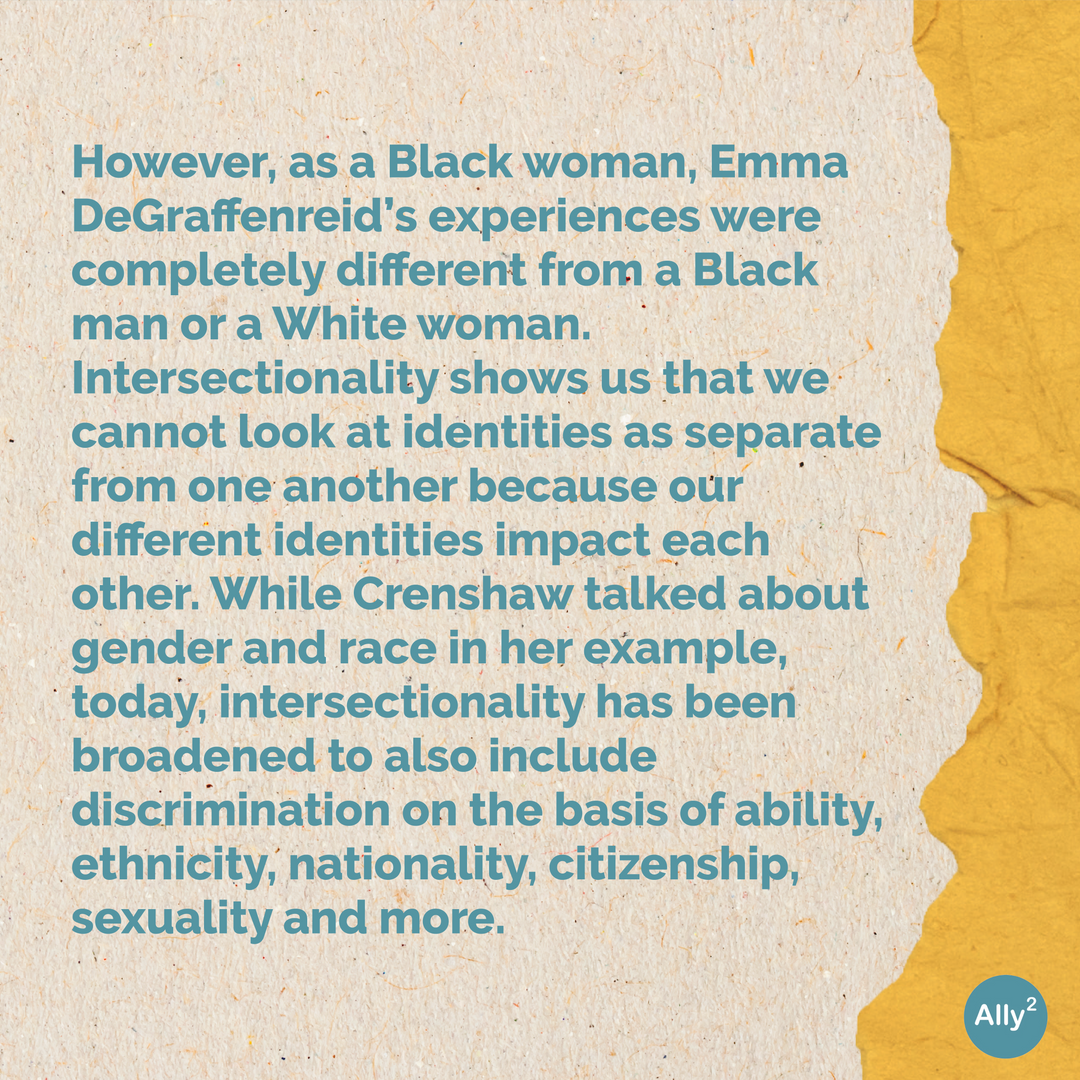 Learning 101: What is intersectionality? Slide 3