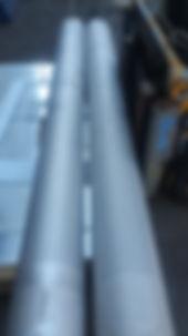 custom cut 8 inch stainless steel pipe