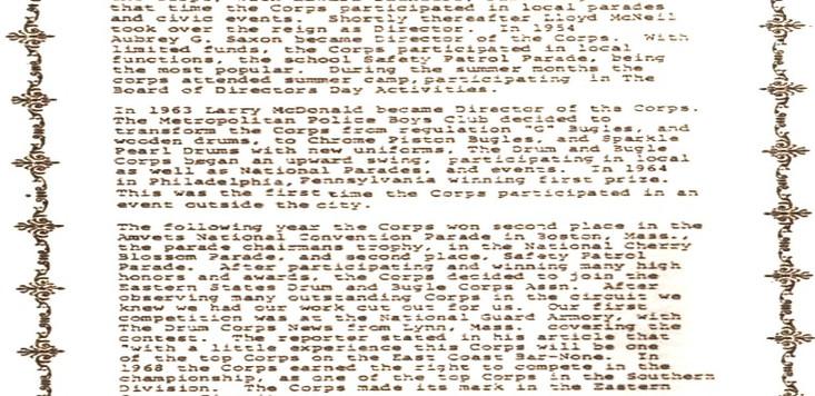 Boys Club History Page