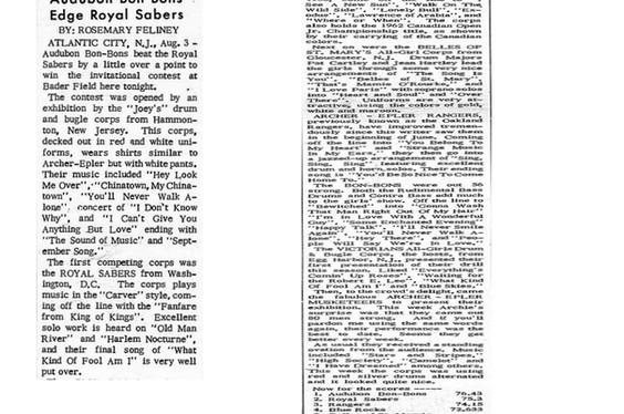 Royal Sabres News Articles
