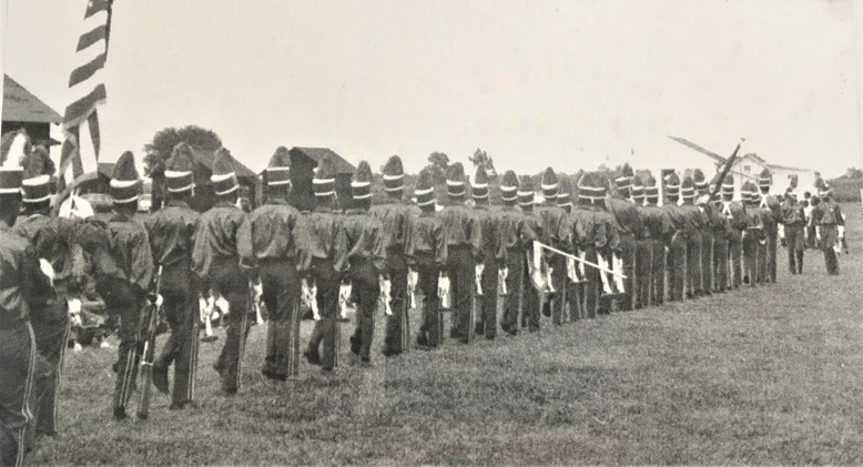 Corps Lining Up for Action.JPG