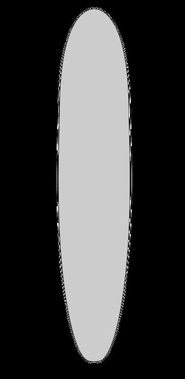 """DIY Hollow Board Plans - 8'6"""" Burl Longboard"""
