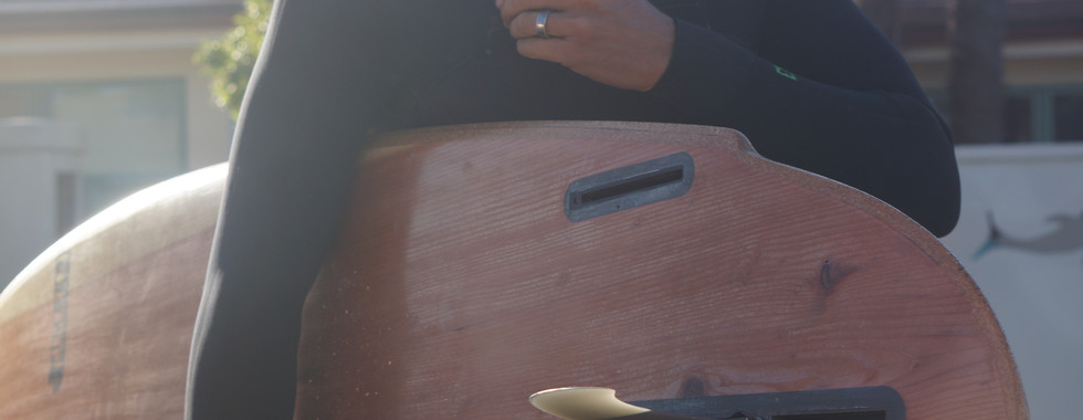 Timber Surf Company   Splinter Series Wooden Surfboard   Santa Cruz, CA