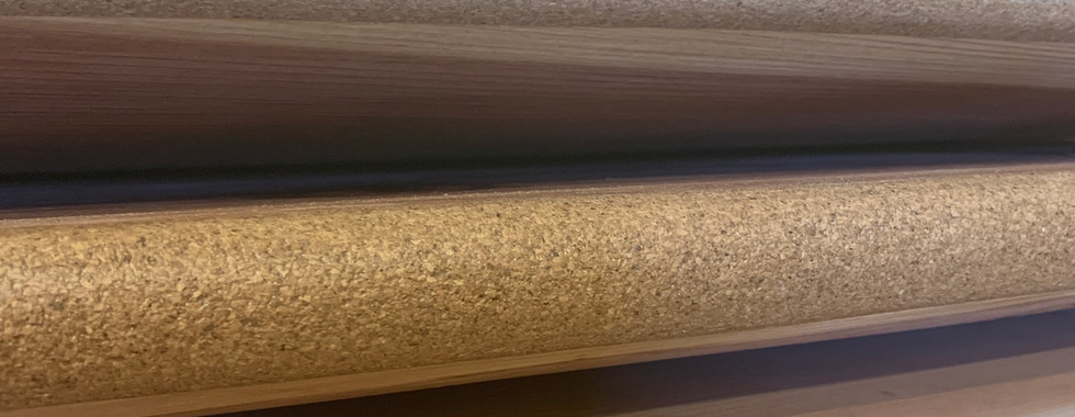 Timber Surf Company   Splinter Series Wooden Surfboard   Santa Cruz, CA Cork Rails