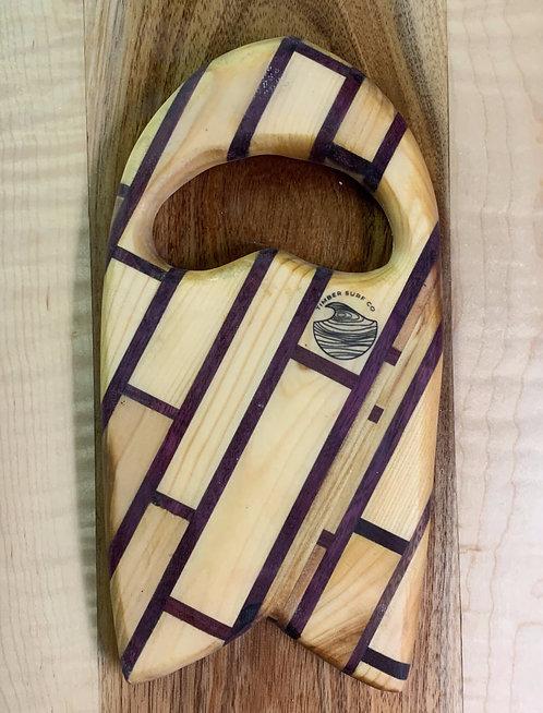 Tiled Fir / Purpleheart