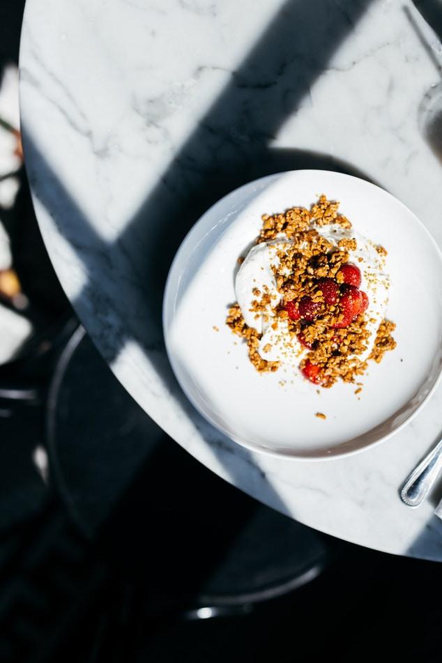 Yogurt with Hemp Granola & Berries