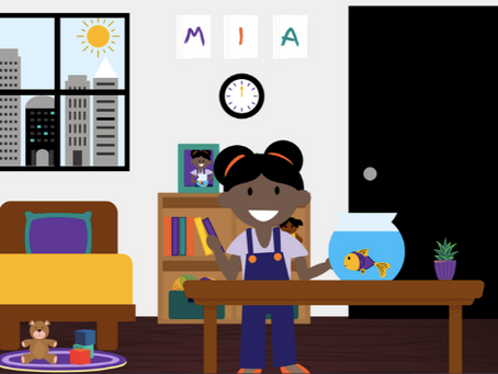 Mia and Her Fish: New ParentCorps book to help children cope with grief