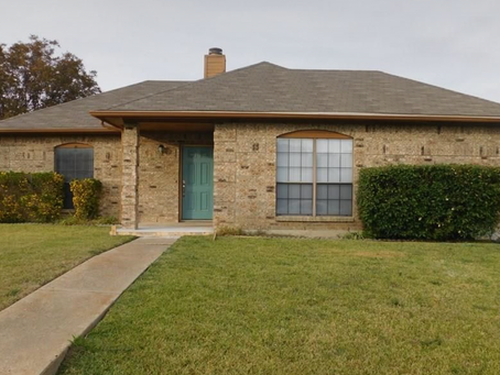 Just closed in Mesquite, Texas