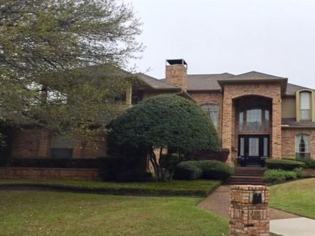 Just closed in McKinney, Texas