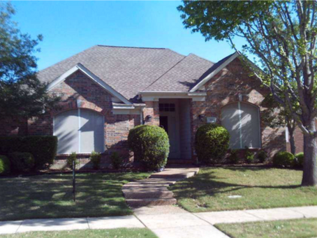 Just closed in Lewisville, Texas