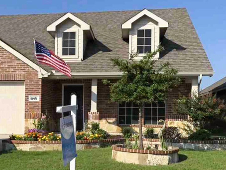 Just closed in Fate, Texas