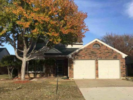 Just closed in Flower Mound, Texas