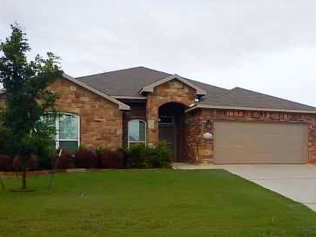 Just closed in Temple, Texas