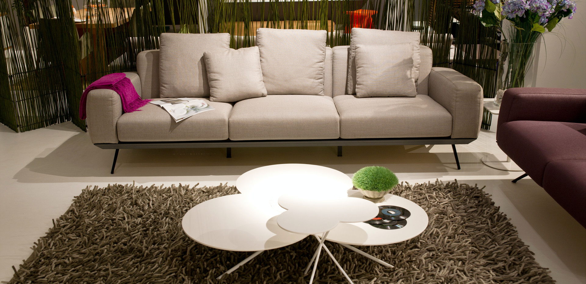 white-sofa-near-white-round-table-417003